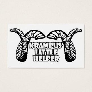 Krampus' Little Helper Business Card