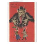 Krampus Note Card
