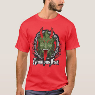 Krampus Original (Red T) T-Shirt