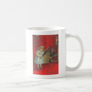 Krampus Playing With Girl Coffee Mug