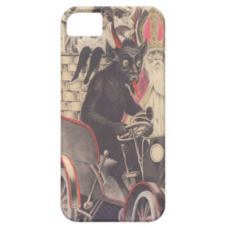 Krampus & Priest Kidnapping Children iPhone SE/5/5s Case
