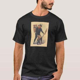 Krampus Punishing Bad Child T-Shirt