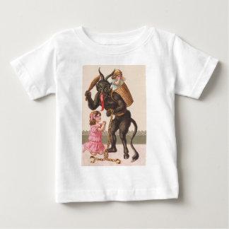 Krampus Punishing Children Switch Chain Baby T-Shirt