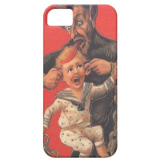 Krampus que castiga al niño funda para iPhone SE/5/5s