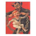 Krampus que castiga Little Boy