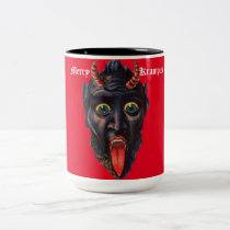 Krampus Red Mug