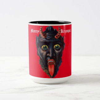 Krampus Red Mug