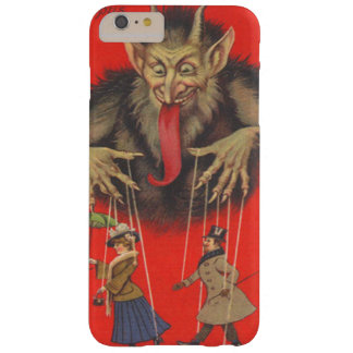 Krampus Red Puppeteer Puppets Tongue Barely There iPhone 6 Plus Case