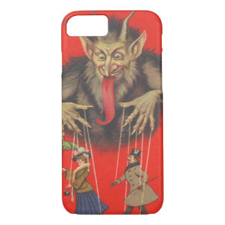 Krampus Red Puppeteer Puppets Tongue iPhone 8/7 Case