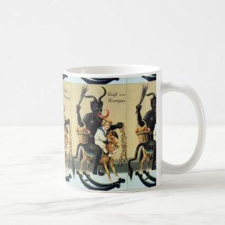 Krampus Rocking Horse Holiday Christmas Mug