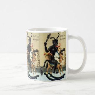 Krampus Rocking Horse Holiday Christmas Xmas Coffee Mug