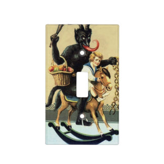 Krampus Rocking Horse Holiday Xmas Switch Cover