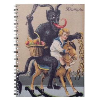 Krampus Rocking Horse Notebook