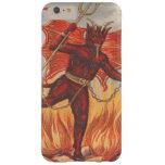 Krampus se va volando el fuego de la cadena del funda para iPhone 6 plus barely there
