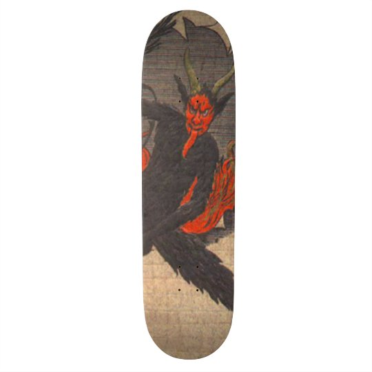 Krampus Skateboard Deck