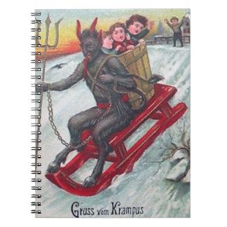 Krampus Sled Notebook