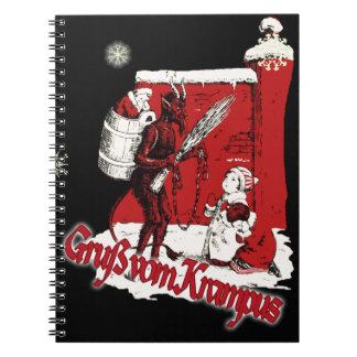 Krampus Snow Day Notebook