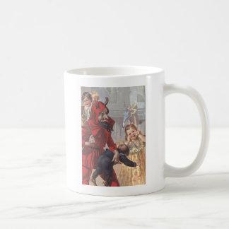 Krampus Spanking Child Coffee Mug
