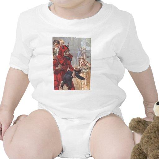 Krampus Spanking Child T Shirt