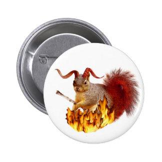Krampus Squirrel Button