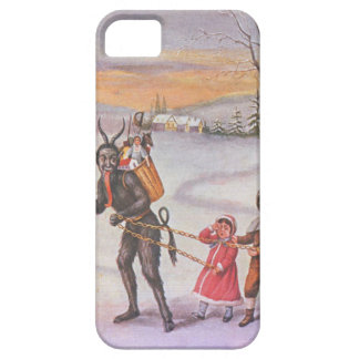 Krampus Stealing Toys & Children iPhone 5 Cases