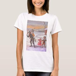 Krampus Stealing Toys & Children T-Shirt
