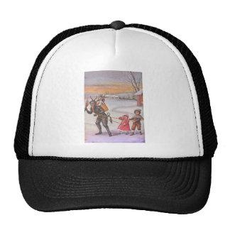 Krampus Stealing Toys & Children Trucker Hat