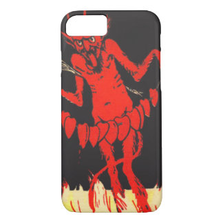 Krampus Switch Hearts On A String iPhone 7 Case