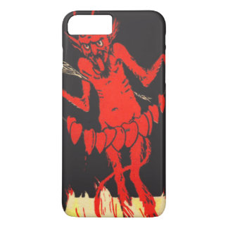 Krampus Switch Hearts On A String iPhone 7 Plus Case