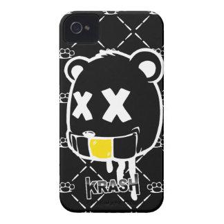 Krash The Dead Bear iPhone 4 Covers