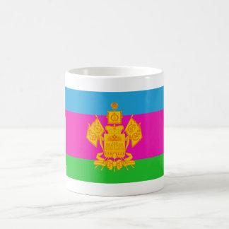 Krasnodar Krai Flag Classic White Coffee Mug