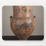 Krater depicting the departure of Hercules Mouse Pad
