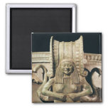 Krater, detail of the handle 2 inch square magnet