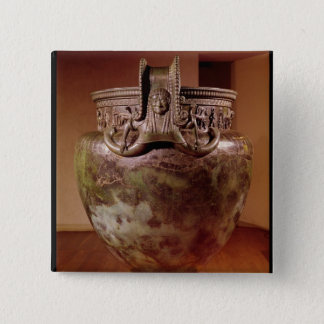 Krater, from the Tomb of a Princess of Vix Pinback Button