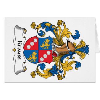 Krauss Family Crest Cards