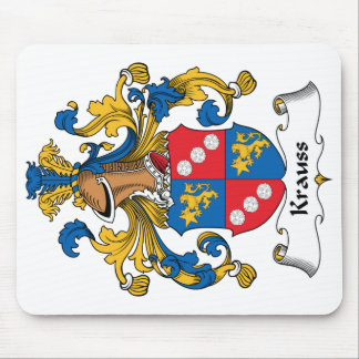 Krauss Family Crest Mouse Pad