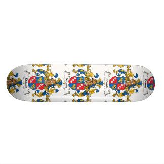Krauss Family Crest Custom Skate Board
