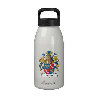 Krauss Family Crest Reusable Water Bottles