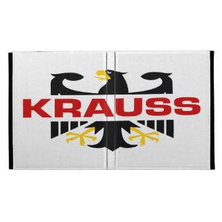 Krauss Surname iPad Cases