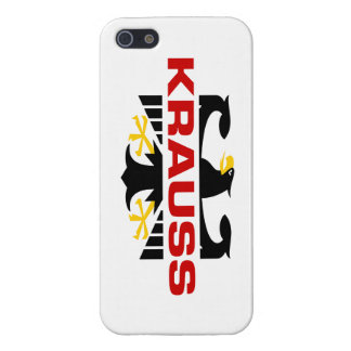 Krauss Surname iPhone 5 Cases
