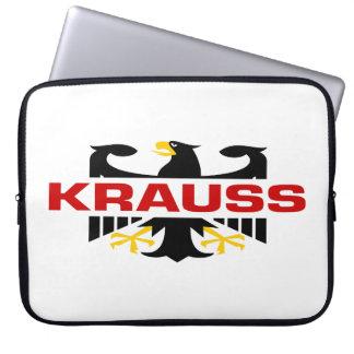 Krauss Surname Laptop Computer Sleeve