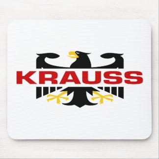 Krauss Surname Mousepads