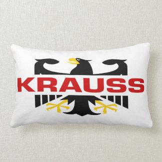 Krauss Surname Throw Pillows