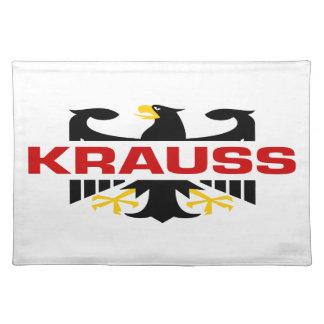 Krauss Surname Place Mat