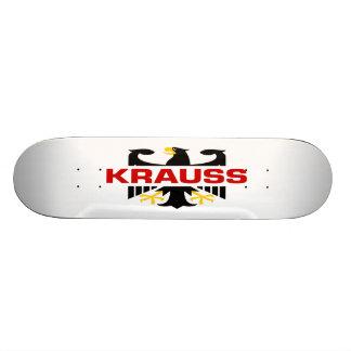 Krauss Surname Skate Decks