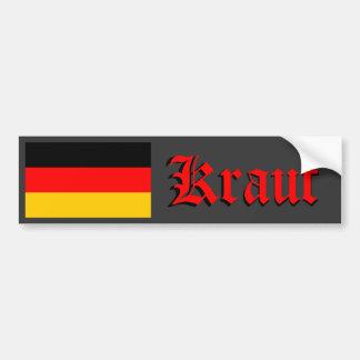 Kraut Bumper Sticker