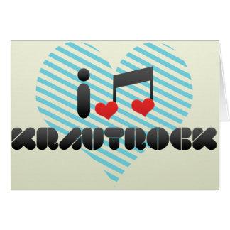 Krautrock fan card