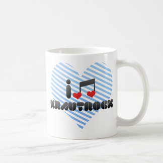 Krautrock fan classic white coffee mug