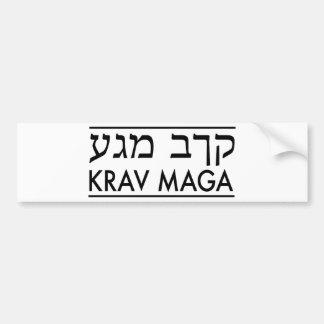 Krav Maga Car Bumper Sticker