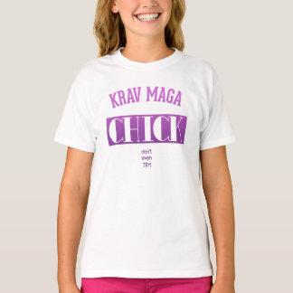 Krav Maga Chick - Dont even try T-Shirt